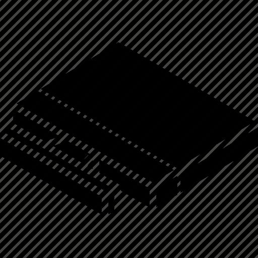 computer, essentials, isometric icon
