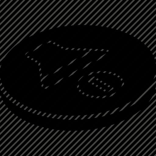 essentials, isometric, off, volume icon