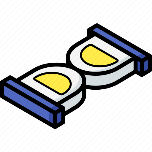 essentials, isometric, timer icon