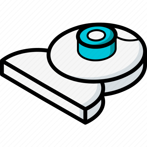 essentials, isometric, webcam icon