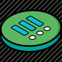 essentials, isometric, list icon