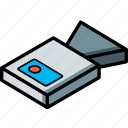 camera, essentials, isometric icon