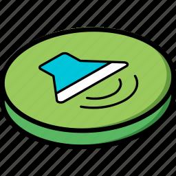 essentials, isometric, volume icon