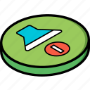 essentials, isometric, off, volume icon