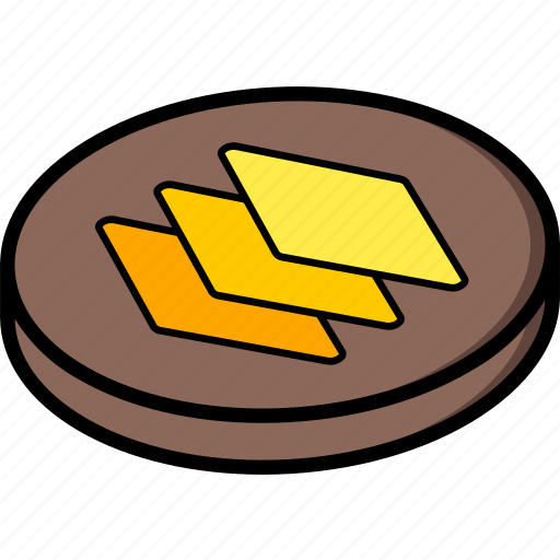 essentials, isometric, layers icon