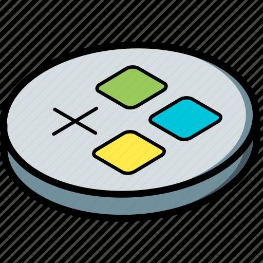 add, application, essentials, isometric icon
