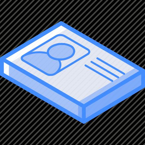 Essentials, identification, isometric icon - Download on Iconfinder