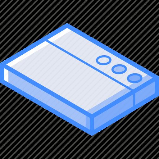 essentials, isometric, page, web icon
