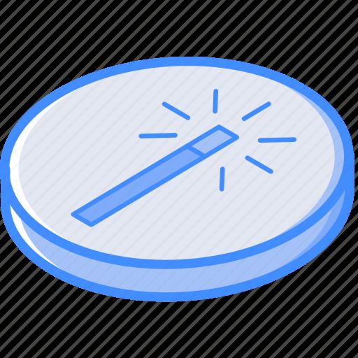 enhance, essentials, isometric icon