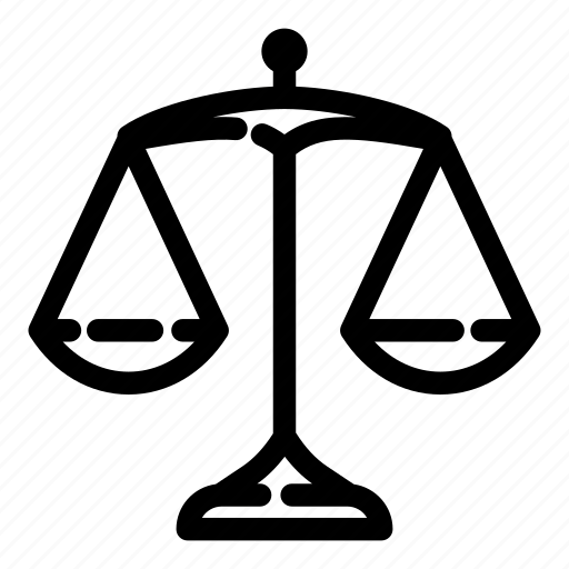 balance, justice, measure, measurement, scales, weigh, weight icon