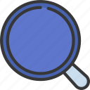 magnifying, glass, ui, ux, loupe, searching