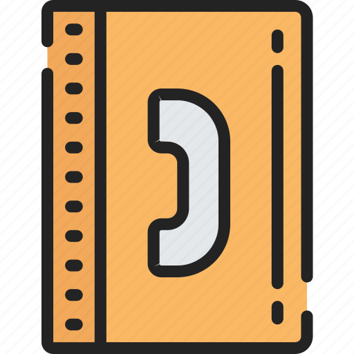 Book, call list, contact, essentials, phone book, ringing icon - Download on Iconfinder