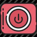 essentials, off, on, power, start icon