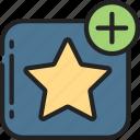 add, essentials, favourite, like, star