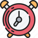 alarm, bell, clock, essentials, ring icon