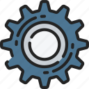 cog, essentials, industrial, options, settings