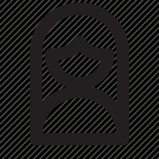 account, avatar, female, profile, user icon