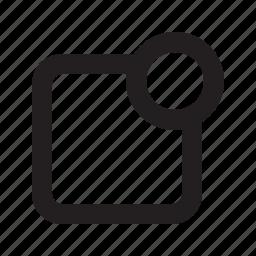 alert, message, notification icon