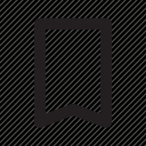 bookmark, fav, label icon