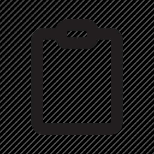 clipboard, copy, report icon