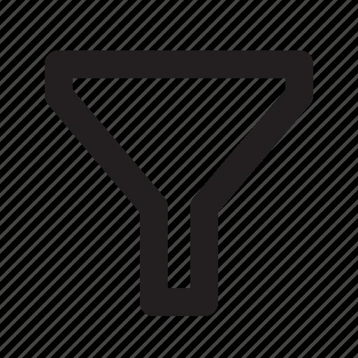 Funnel, order, sort icon - Download on Iconfinder