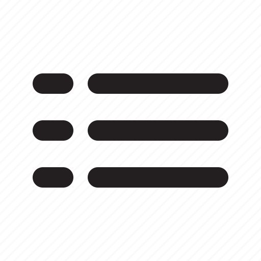 hambuger, list, menu, settings icon