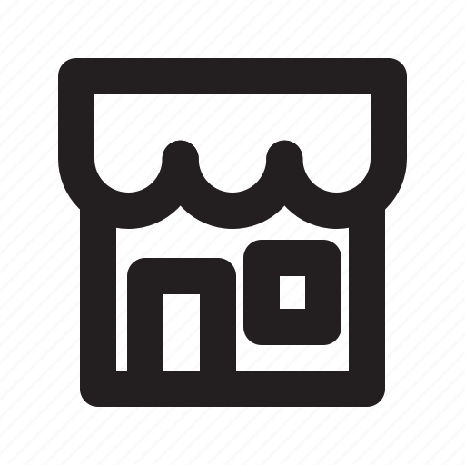 b2c, marketplace, shop, storefront icon