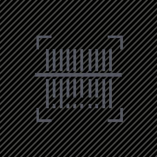 bar, code, reader, scanner icon