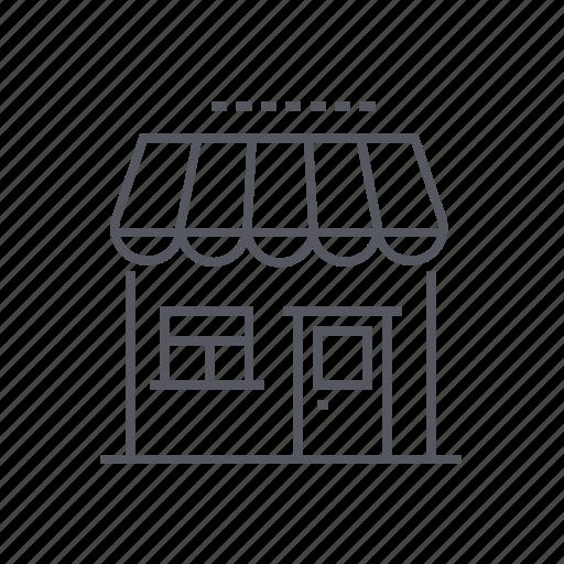 convenience, shop, store, storefront icon