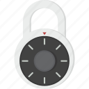combination, lock, protected, secure, security icon