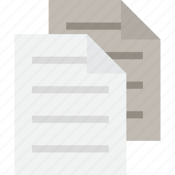 copies, copy, pages icon