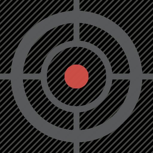 crosshairs, gps, target icon