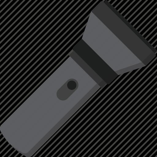 flashlight, light icon