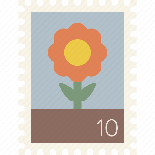 mail, postage, stamp icon