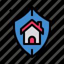 durable, estate, guard, insurance, protection icon