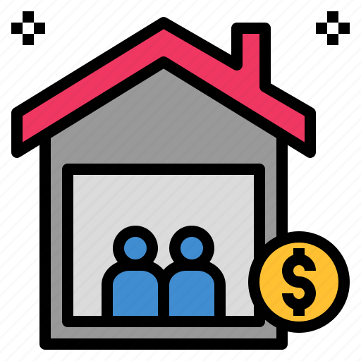 estate, family, house, property, wedlock icon