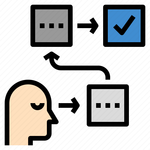 analysis, evaluate, planning, procedure, strategy icon