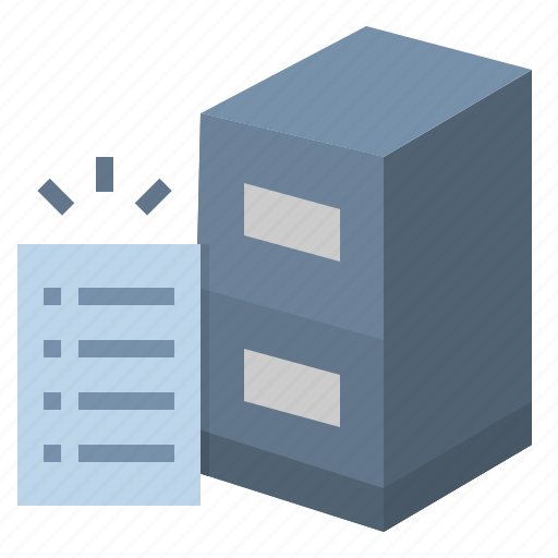 data, document, information, office, paper icon