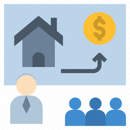 business, course, estate, planning, training icon