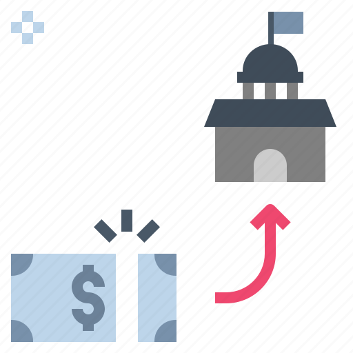 charge, dues, fee, tariff, tax icon