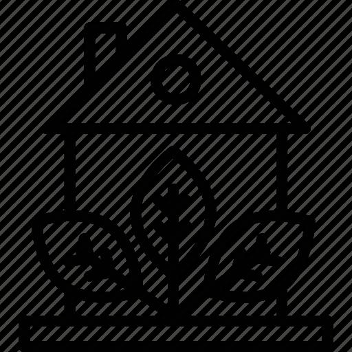 eco house, ecology, glasshouse, greenhouse icon