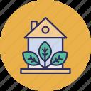 .svg, eco house, ecology, glasshouse, greenhouse icon