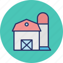 godown, storage unit, storehouse, storeroom icon