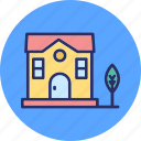 agricultural building, building, country house, farmhouse icon