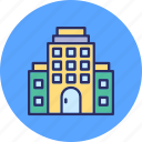 city buildings, high-rise building, modern architecture, skylines icon