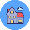agricultural building, architecture, building, hyloft icon