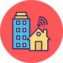 home internet, home networking, home wifi, internet services icon