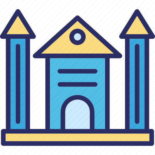 family house, house, mansion, residential building icon