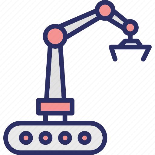 bulldozer, construction, crawler, excavator icon