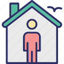 estate agent, homeowner, property advisor, property agent icon